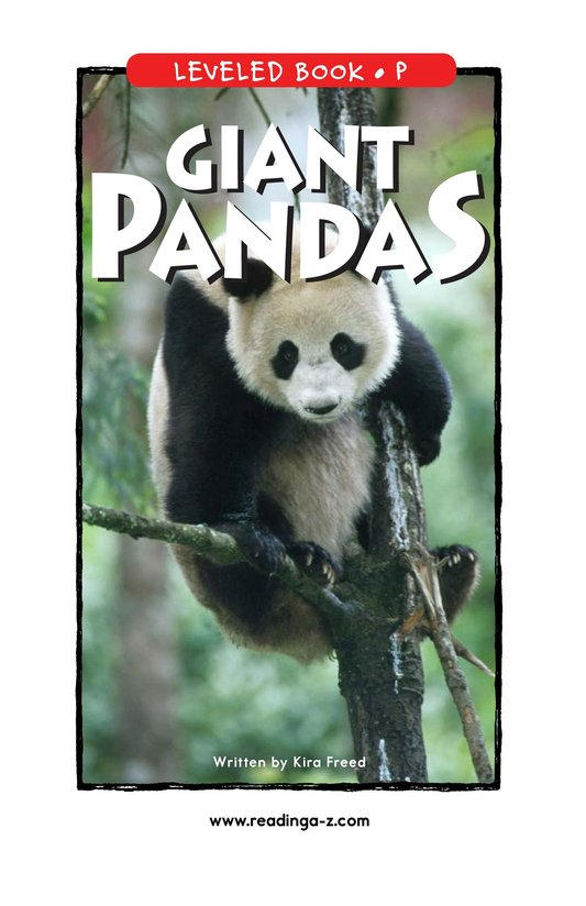Book Preview For Giant Pandas Page 1