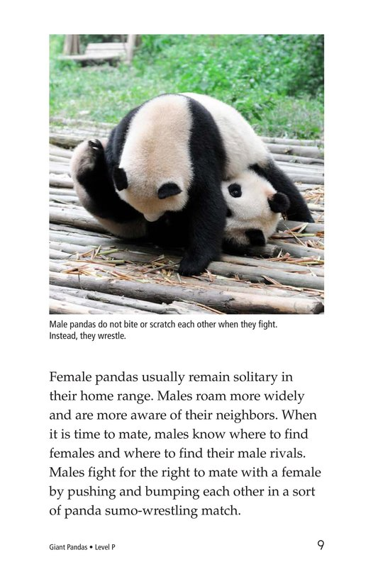 Book Preview For Giant Pandas Page 9