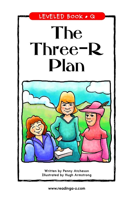 Book Preview For The Three-R Plan Page 1