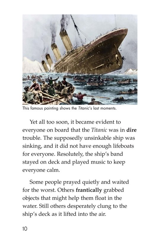 Book Preview For The Titanic: Lost and Found Page 10