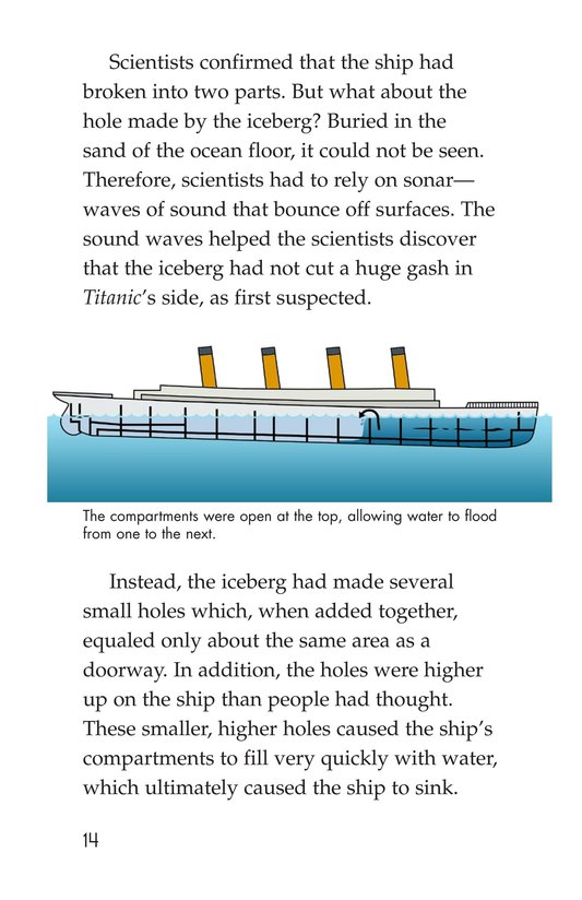 Book Preview For The Titanic: Lost and Found Page 14