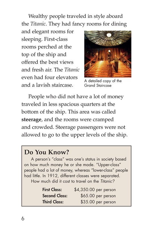 Book Preview For The Titanic: Lost and Found Page 6