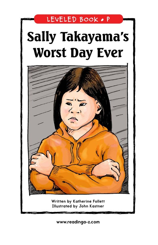Book Preview For Sally Takayama's Worst Day Ever Page 0