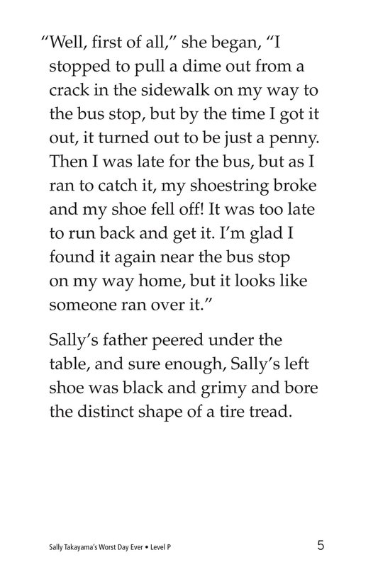 Book Preview For Sally Takayama's Worst Day Ever Page 5