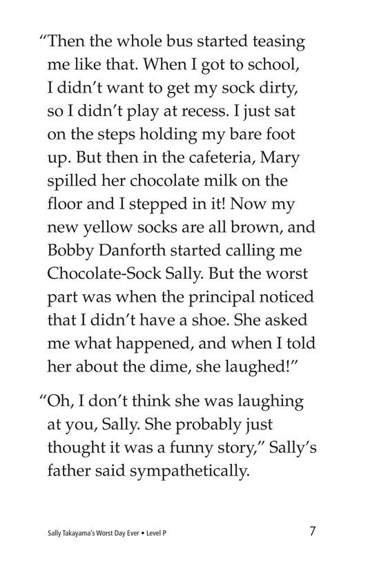 Book Preview For Sally Takayama's Worst Day Ever Page 7