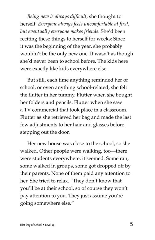 Book Preview For First Day of School Page 5