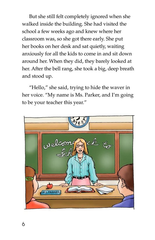 Book Preview For First Day of School Page 6