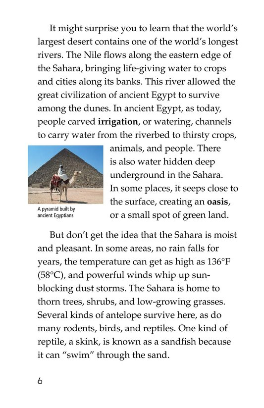 Book Preview For Deserts Dry Page 6