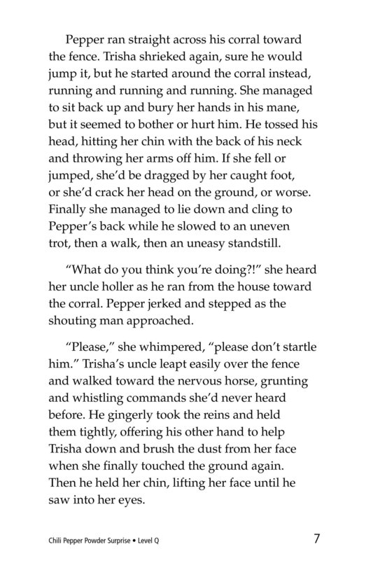 Book Preview For Chili Pepper Powder Surprise Page 7