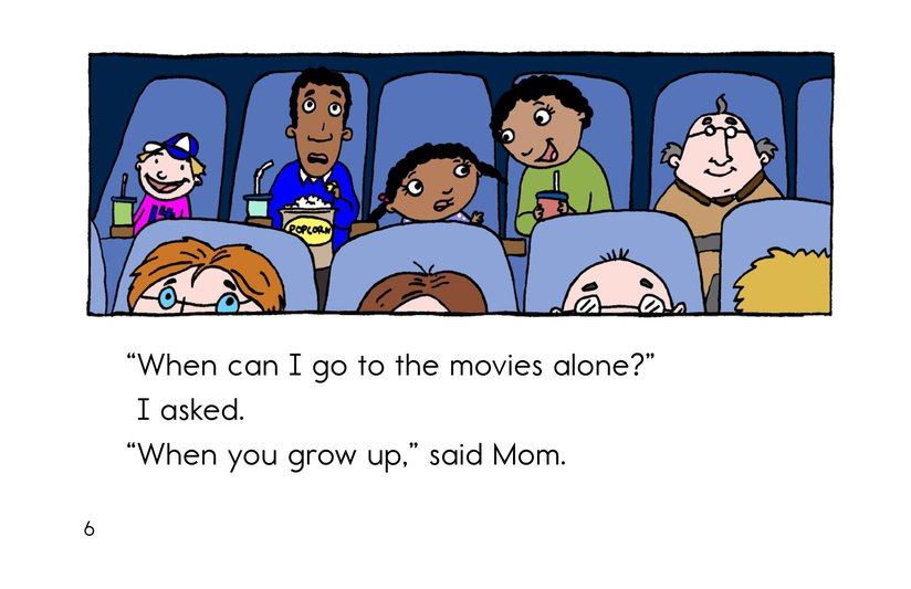 Book Preview For When I Grow Up Page 6