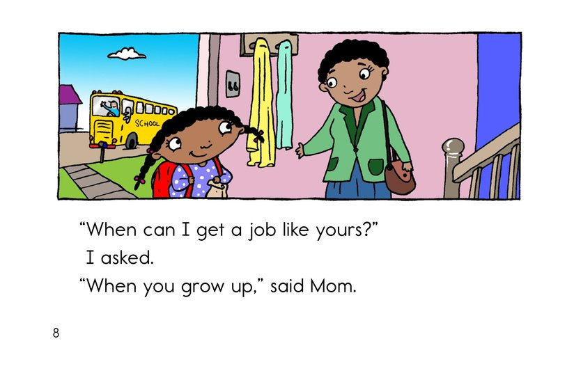 Book Preview For When I Grow Up Page 8