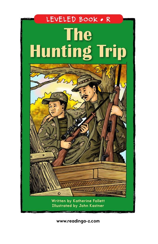 Book Preview For The Hunting Trip Page 0