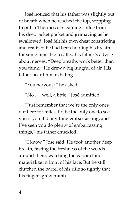 Book Preview For The Hunting Trip Page 4