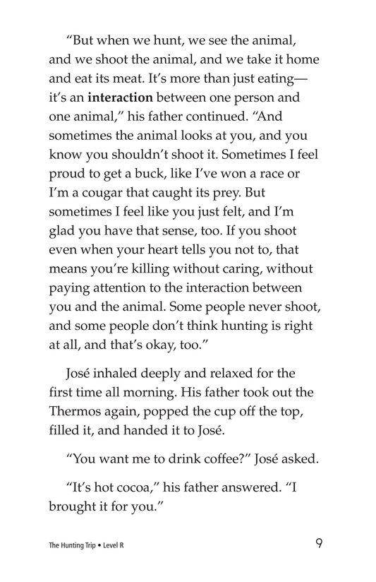 Book Preview For The Hunting Trip Page 9