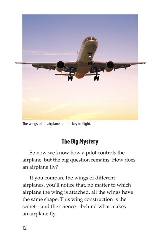 Book Preview For Mysteries of Flight Page 12