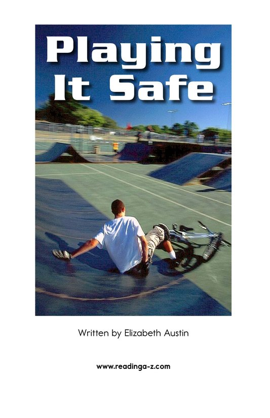 Book Preview For Playing It Safe Page 2