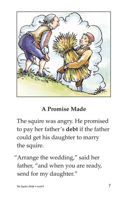 Book Preview For The Squire's Bride Page 7
