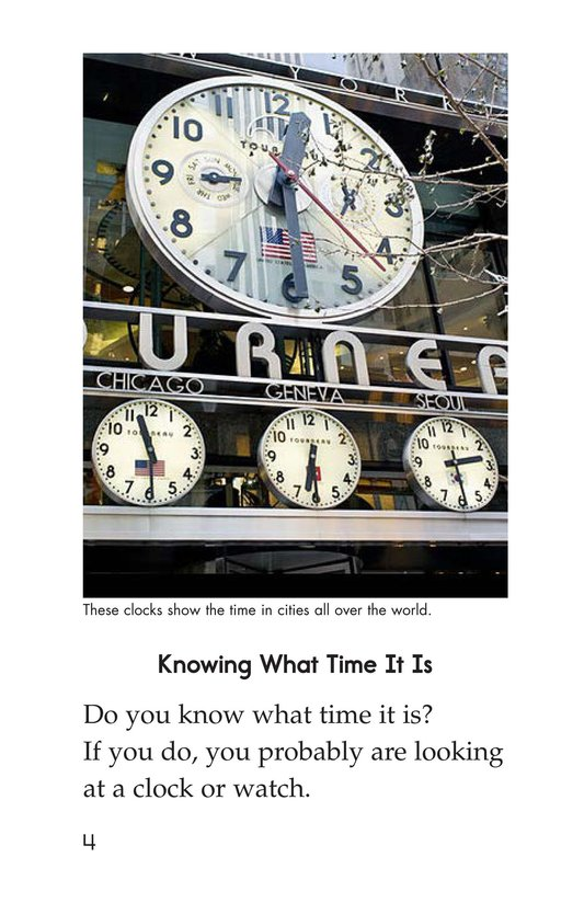 Book Preview For It's About Time Page 4