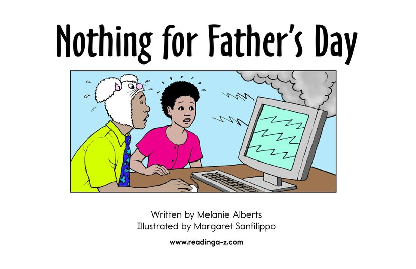 Book Preview For Nothing for Father's Day Page 2