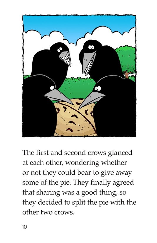 Book Preview For Crows Share a Pie Page 10