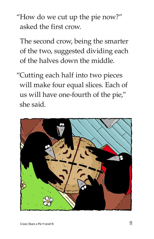 Book Preview For Crows Share a Pie Page 11