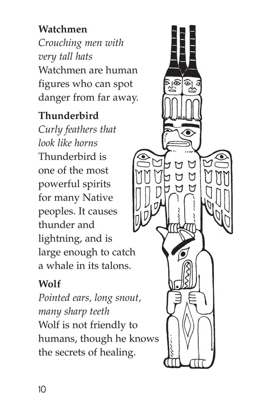 Book Preview For Totem Poles Page 10