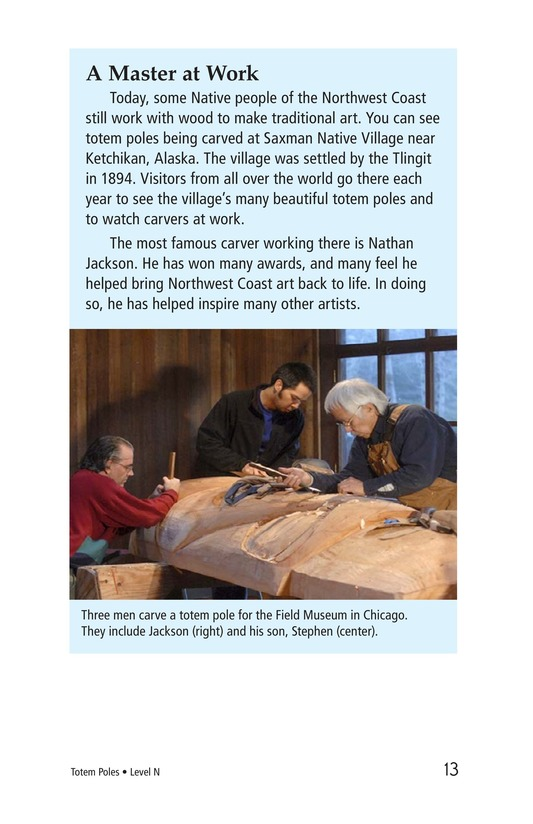 Book Preview For Totem Poles Page 13