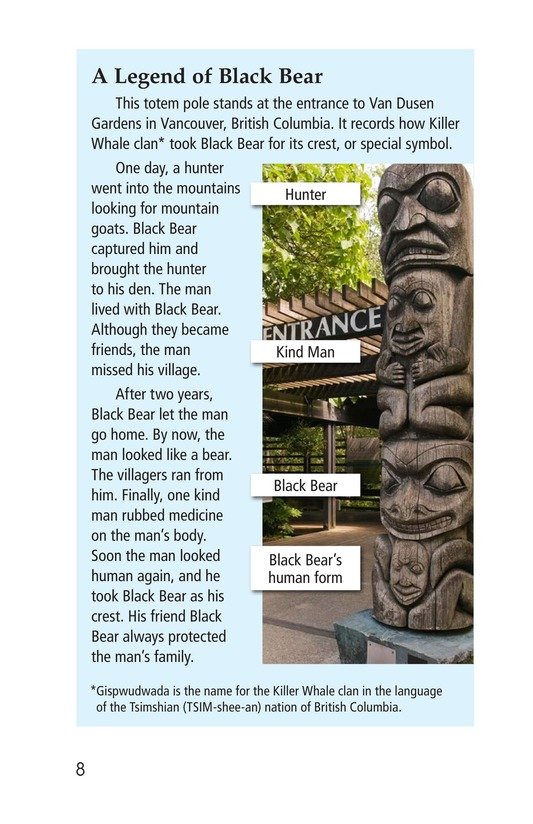 Book Preview For Totem Poles Page 8