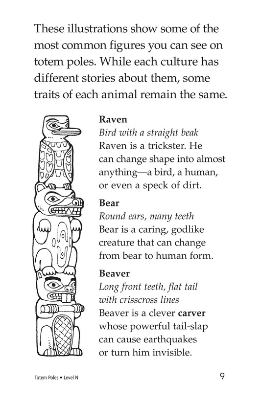 Book Preview For Totem Poles Page 9