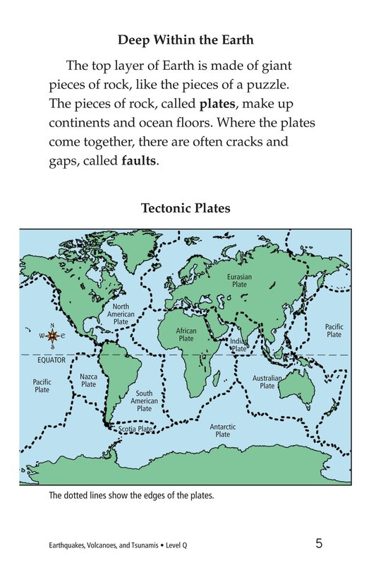 Book Preview For Earthquakes, Volcanoes, and Tsunamis Page 5