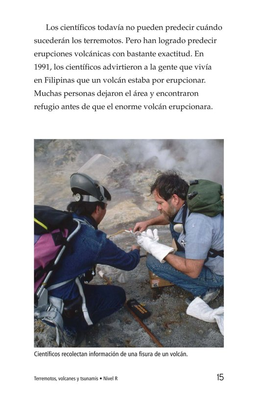 Book Preview For Earthquakes, Volcanoes, and Tsunamis Page 15