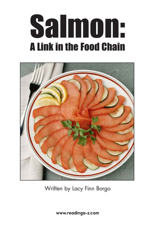 Book Preview For Salmon: A Link in the Food Chain Page 2