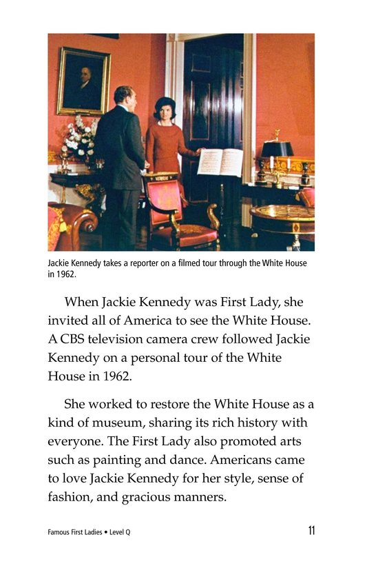 Book Preview For Famous First Ladies Page 11