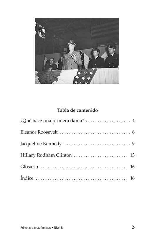 Book Preview For Famous First Ladies Page 3