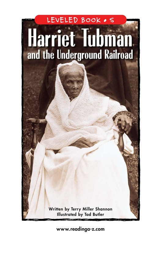 Book Preview For Harriet Tubman and the Underground Railroad Page 1