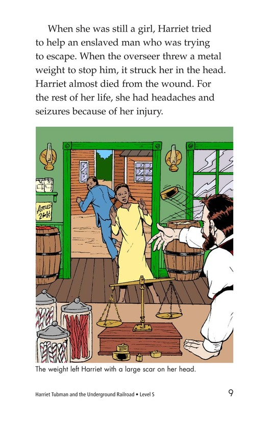 Book Preview For Harriet Tubman and the Underground Railroad Page 9