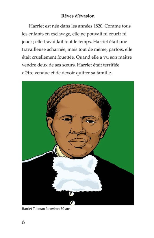 Book Preview For Harriet Tubman and the Underground Railroad Page 6