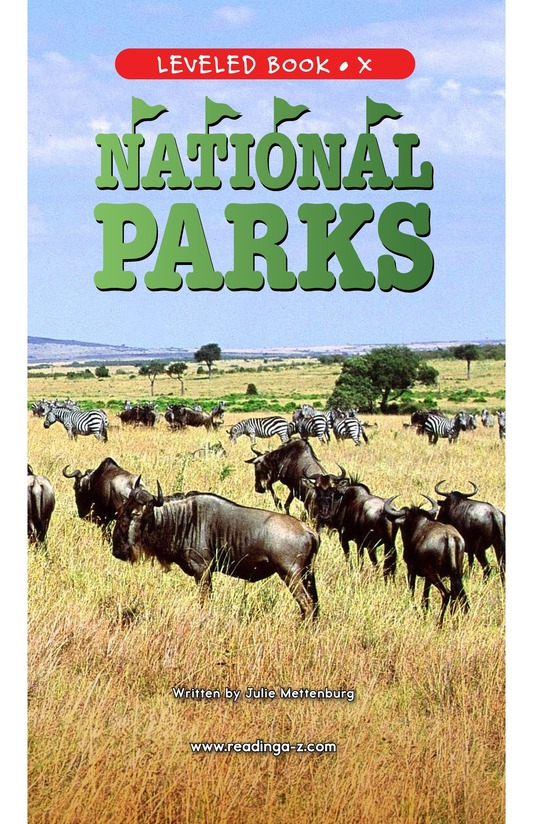 Book Preview For National Parks Page 1