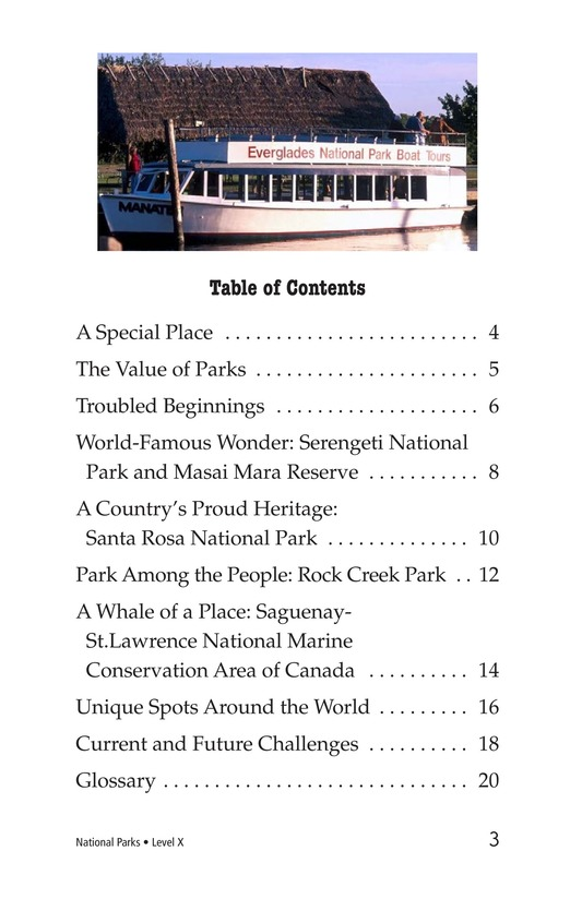 Book Preview For National Parks Page 3