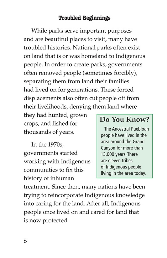 Book Preview For National Parks Page 6