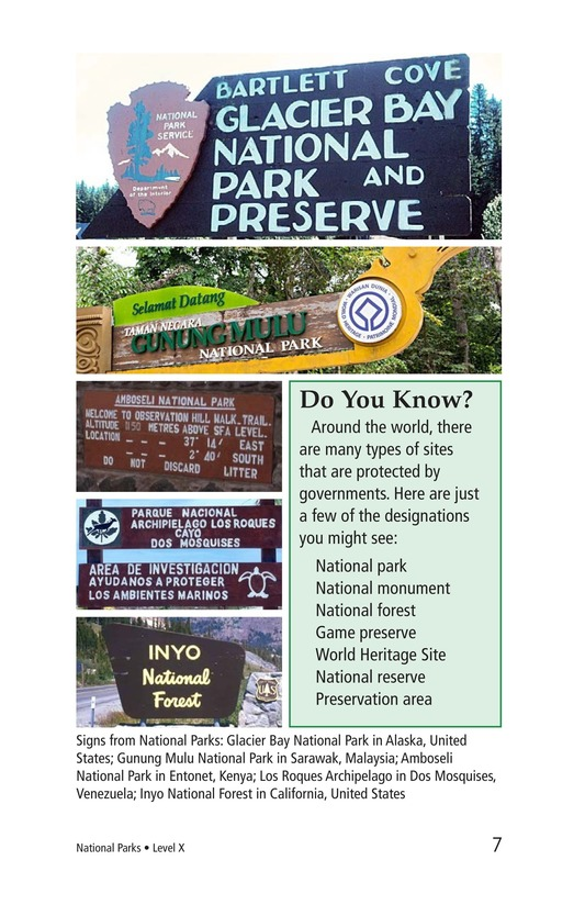 Book Preview For National Parks Page 7
