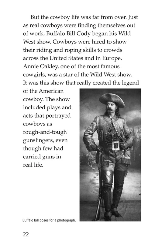 Book Preview For Yee Haw! The Real Lives of the Cowboys Page 22