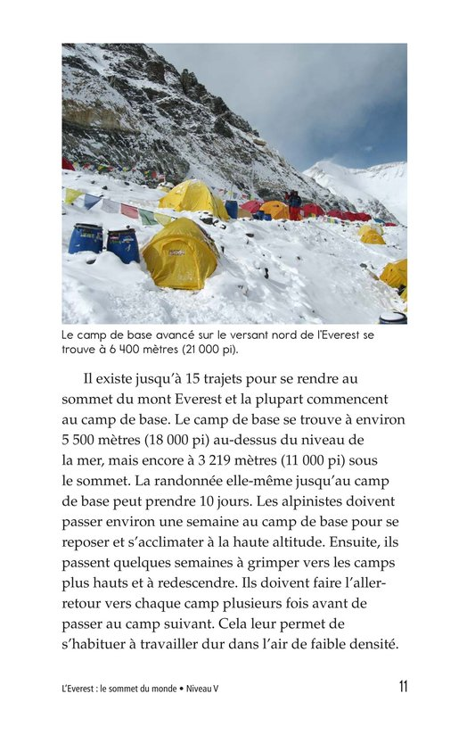 Book Preview For Everest: On Top of the World Page 11