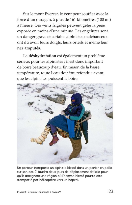Book Preview For Everest: On Top of the World Page 23