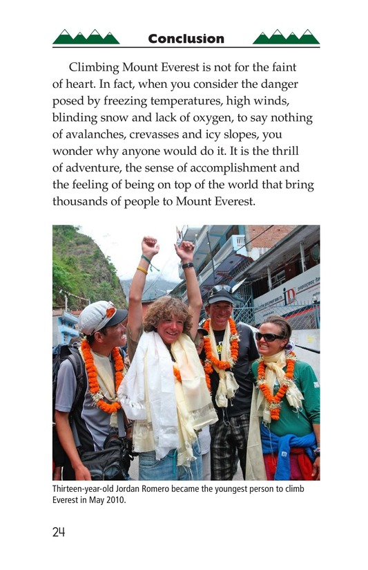 Book Preview For Everest: On Top of the World Page 24