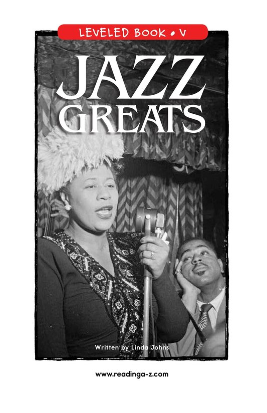 Book Preview For Jazz Greats Page 1