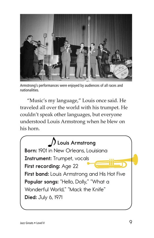 Book Preview For Jazz Greats Page 9