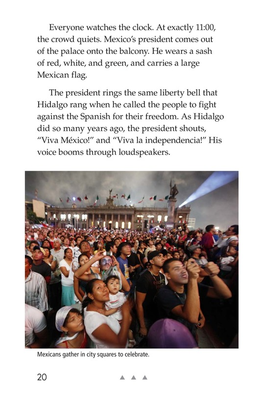 Book Preview For Mexico's Fight for Independence Page 20