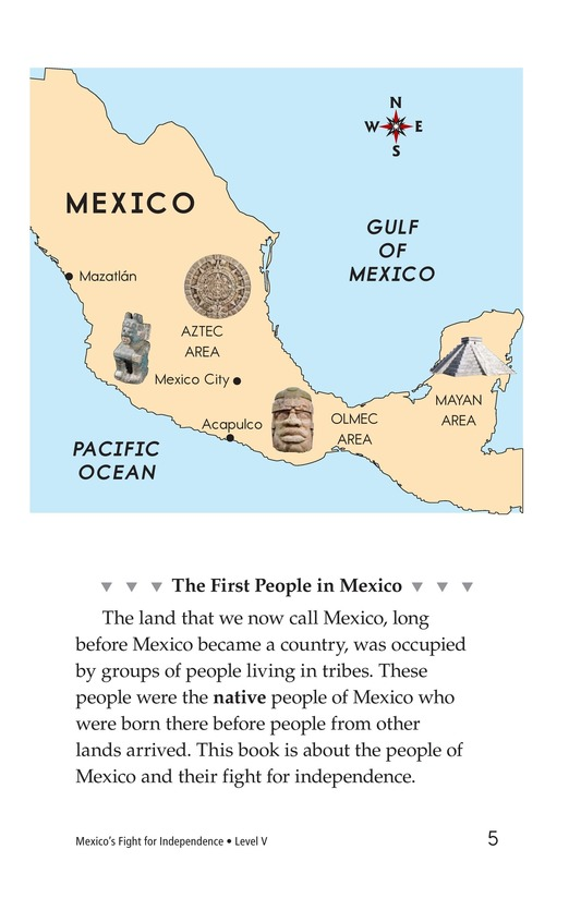 Book Preview For Mexico's Fight for Independence Page 5
