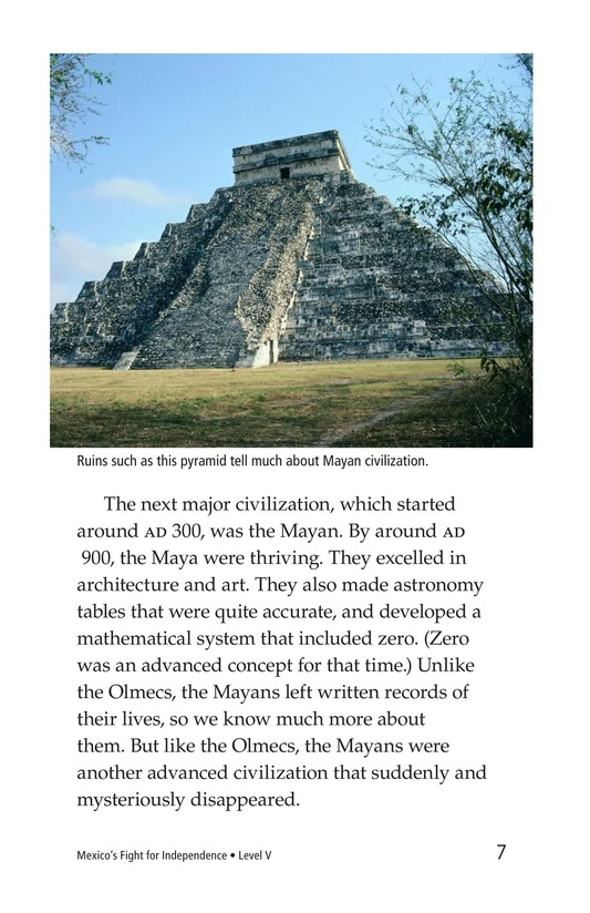 Book Preview For Mexico's Fight for Independence Page 7
